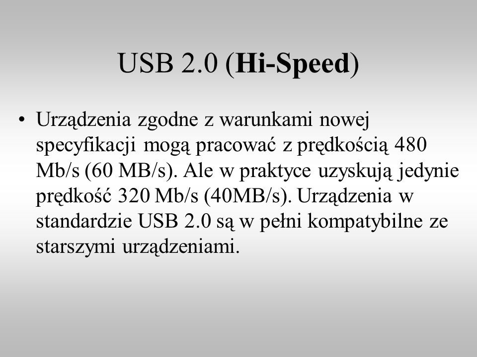 USB 2.0 (Hi-Speed)