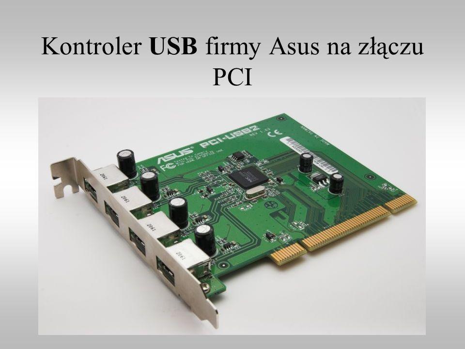 Kontroler USB firmy Asus na złączu PCI