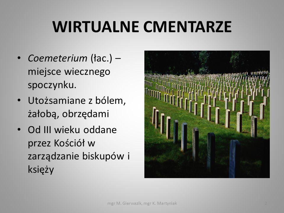 mgr M. Gierwazik, mgr K. Martyniak