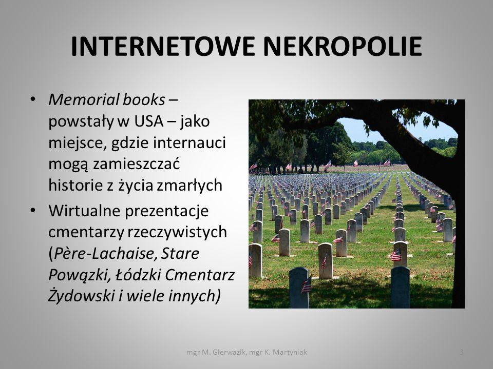 INTERNETOWE NEKROPOLIE