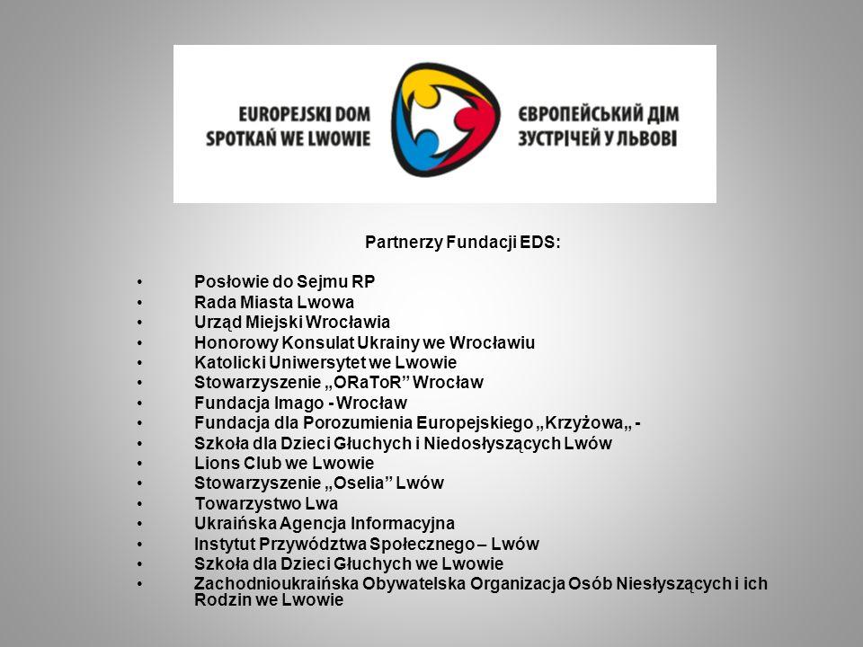 Partnerzy Fundacji EDS:
