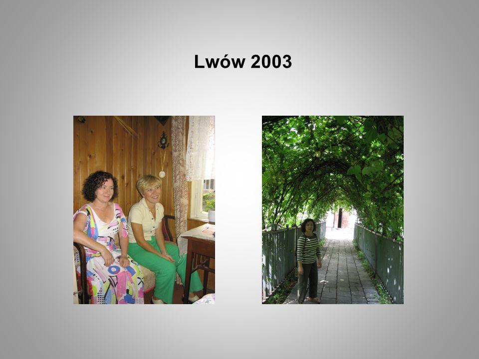Lwów 2003 Strona tytułowa