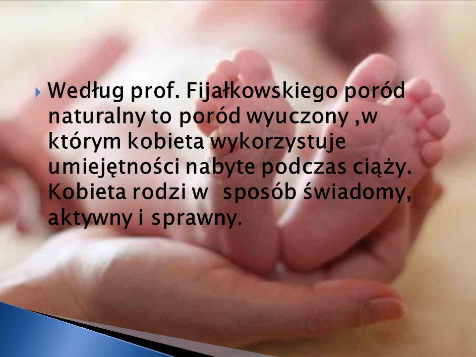 Według prof.