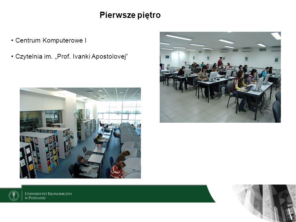 Pierwsze piętro Centrum Komputerowe I
