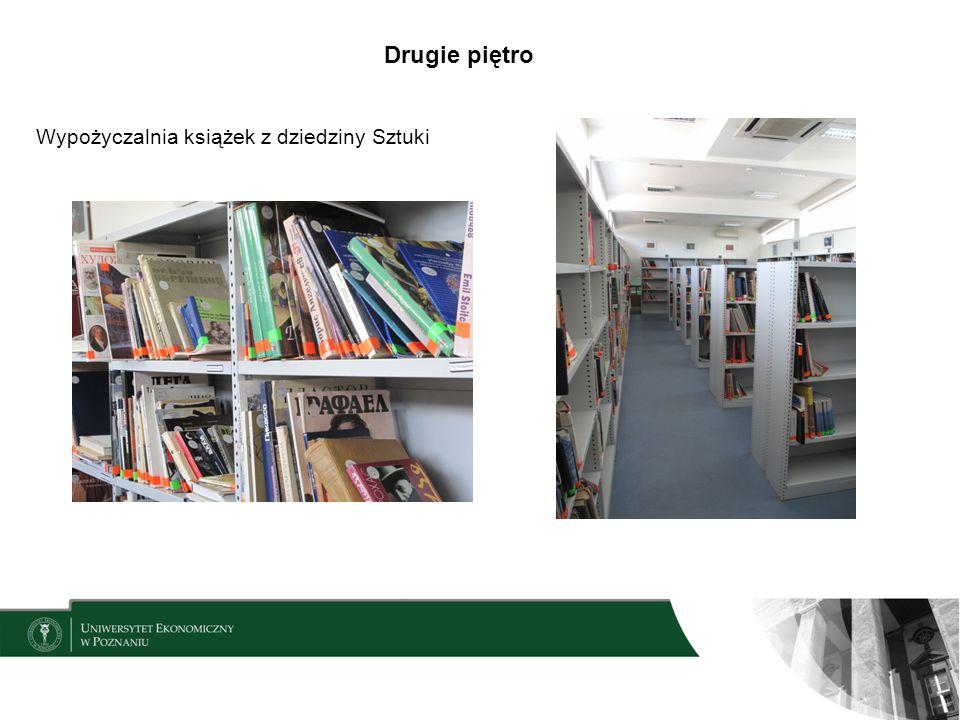 Drugie piętro Wypożyczalnia książek z dziedziny Sztuki