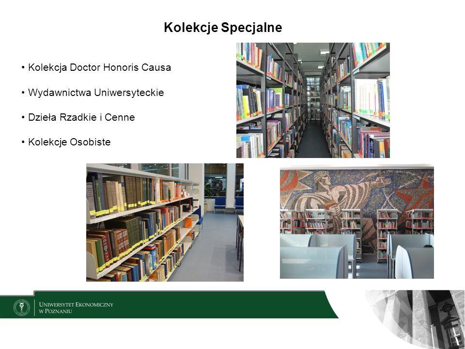 Kolekcje Specjalne Kolekcja Doctor Honoris Causa