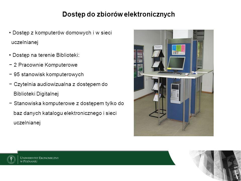 Dostęp do zbiorów elektronicznych
