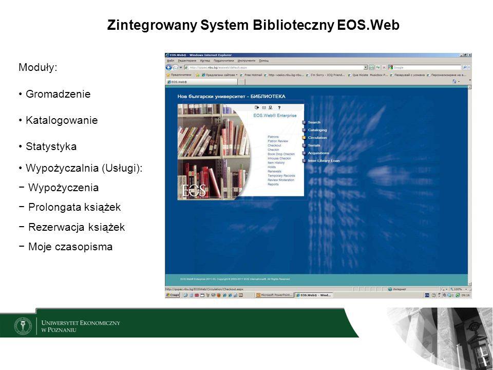 Zintegrowany System Biblioteczny EOS.Web
