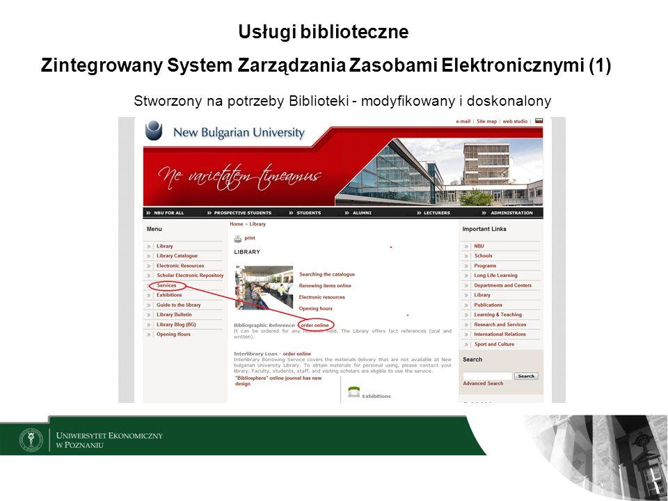 Zintegrowany System Zarządzania Zasobami Elektronicznymi (1)
