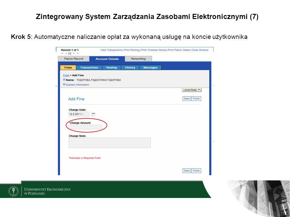 Zintegrowany System Zarządzania Zasobami Elektronicznymi (7)