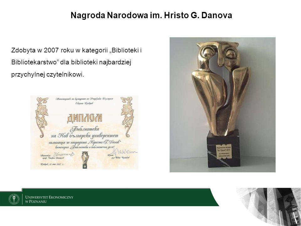 Nagroda Narodowa im. Hristo G. Danova