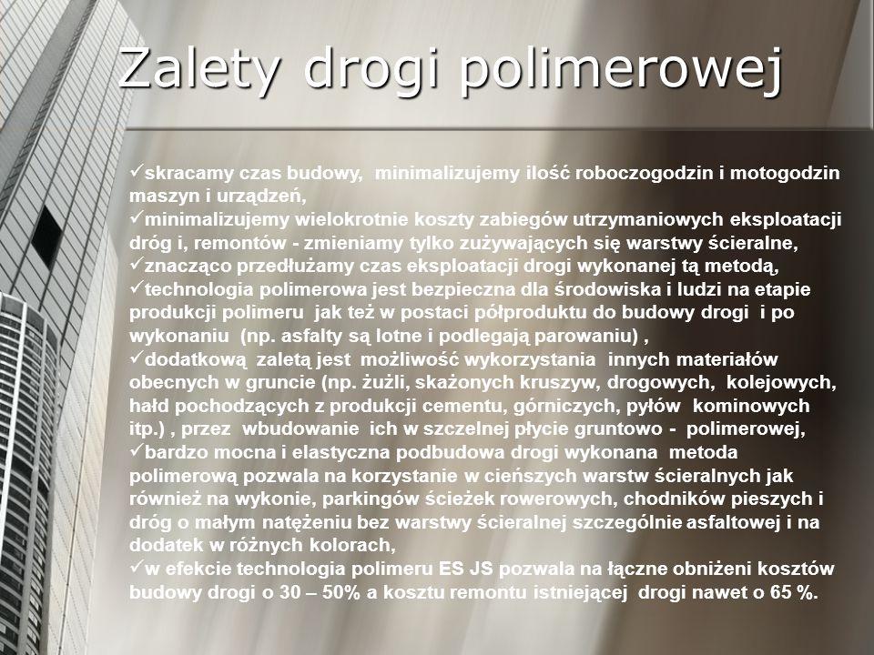 Zalety drogi polimerowej