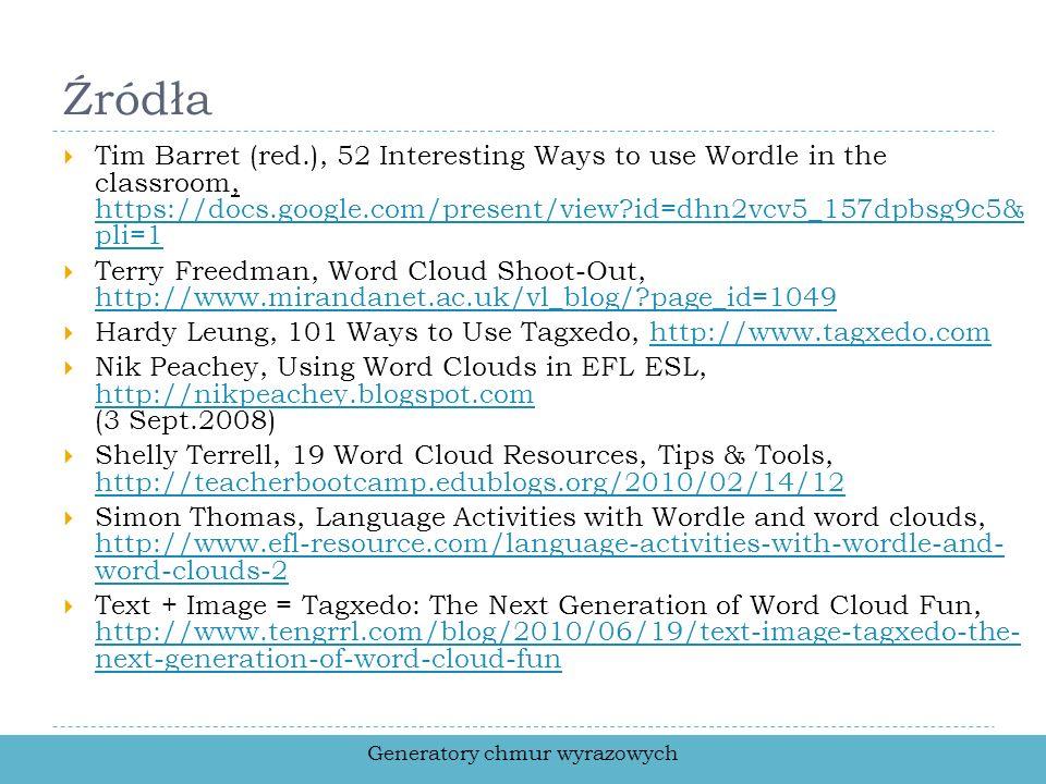 Generatory chmur wyrazowych