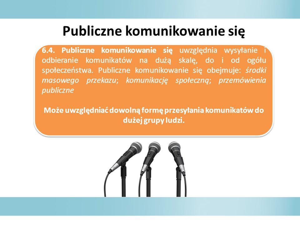 Publiczne komunikowanie się