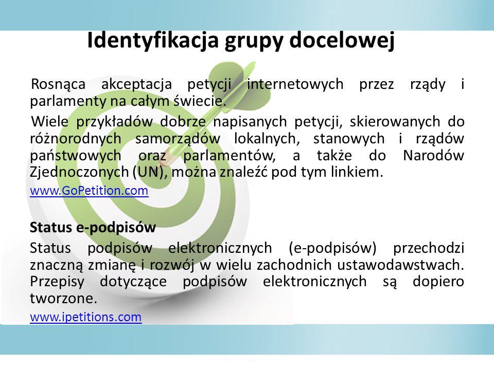 Identyfikacja grupy docelowej