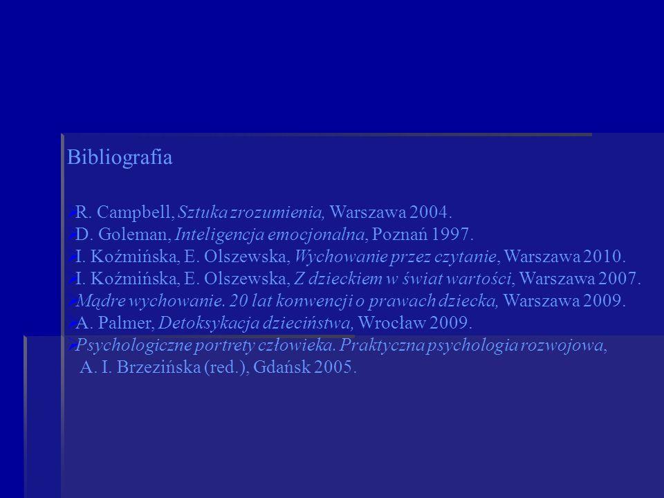 Bibliografia R. Campbell, Sztuka zrozumienia, Warszawa 2004.