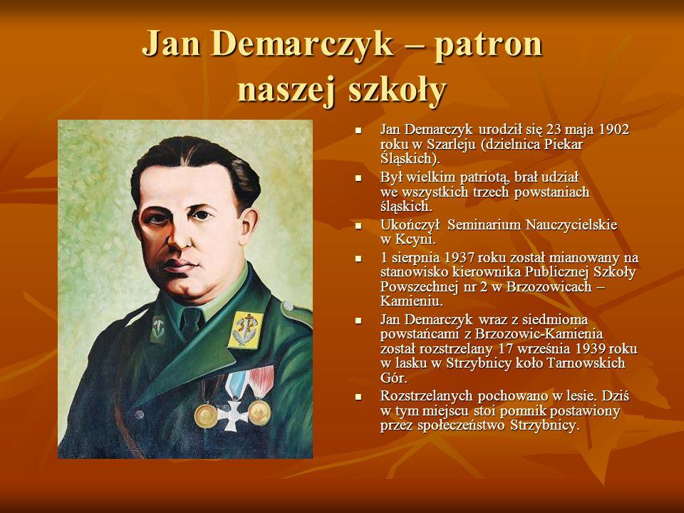 Jan Demarczyk – patron naszej szkoły