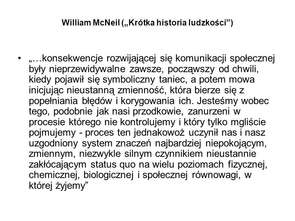 "William McNeil (""Krótka historia ludzkości )"