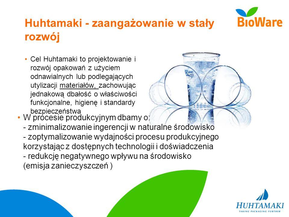 Huhtamaki - zaangażowanie w stały rozwój