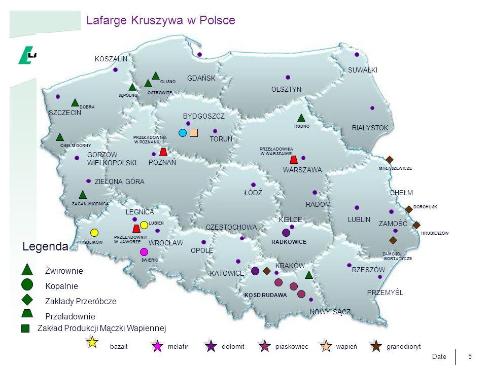Lafarge Kruszywa w Polsce