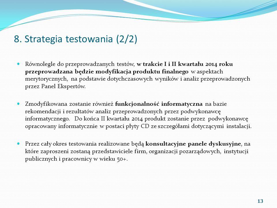 8. Strategia testowania (2/2)