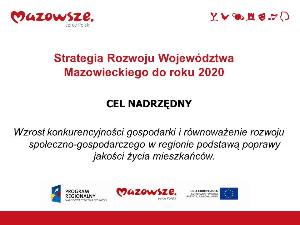 Strategia Rozwoju Województwa Mazowieckiego do roku 2020