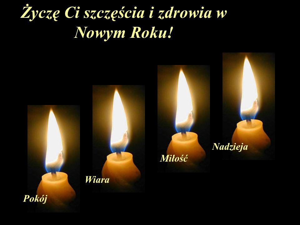 Życzę Ci szczęścia i zdrowia w Nowym Roku!