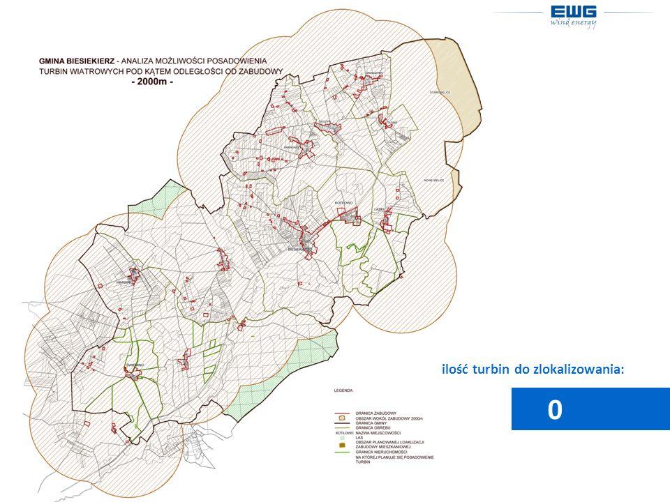 ilość turbin do zlokalizowania: