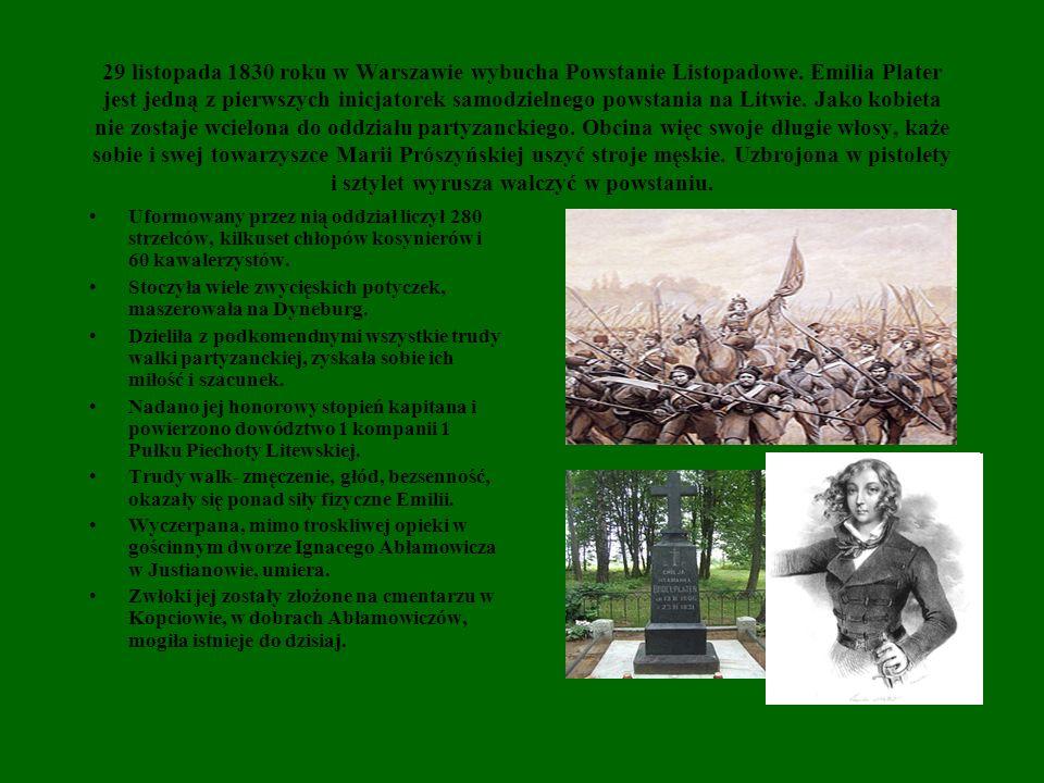 29 listopada 1830 roku w Warszawie wybucha Powstanie Listopadowe
