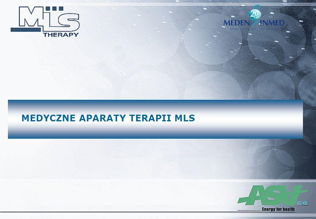 MEDYCZNE APARATY TERAPII MLS