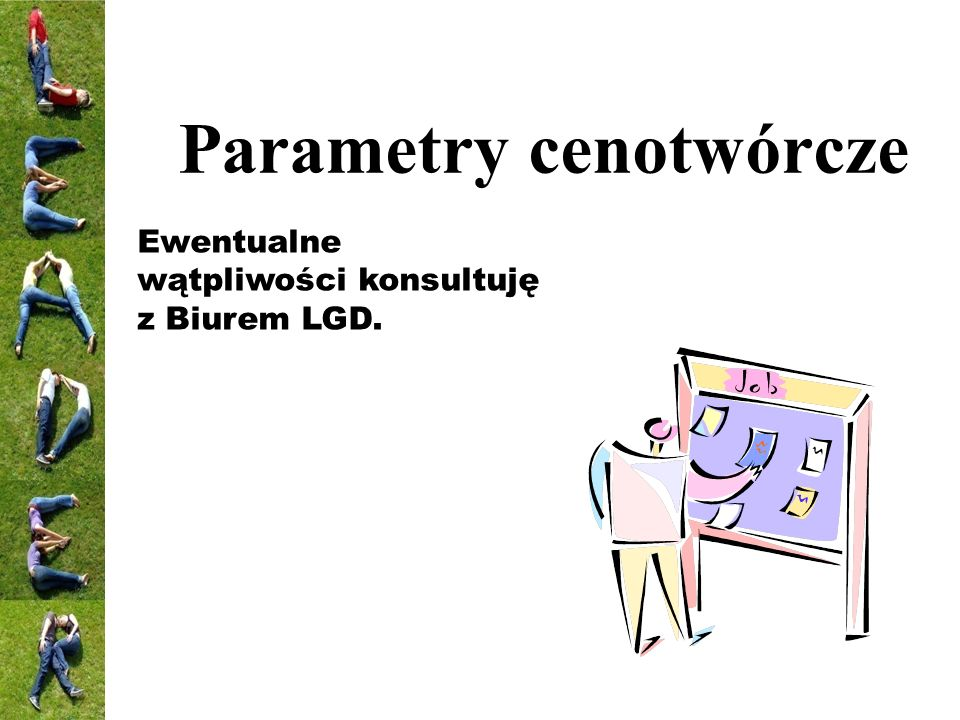Parametry cenotwórcze