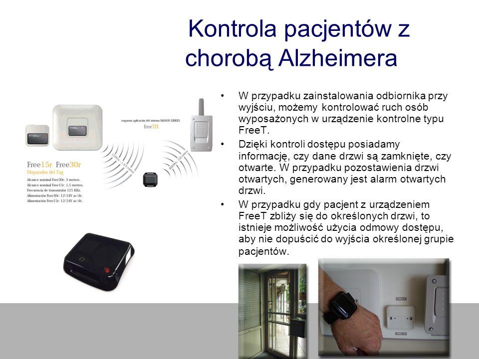Kontrola pacjentów z chorobą Alzheimera