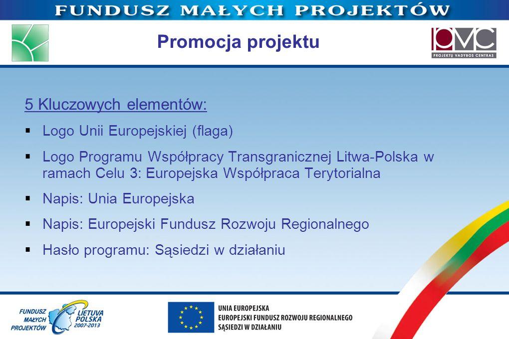 Promocja projektu 5 Kluczowych elementów: