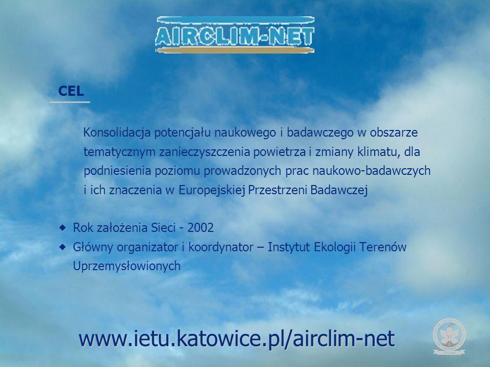 www.ietu.katowice.pl/airclim-net CEL