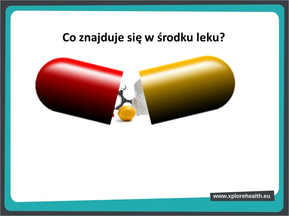 Co znajduje się w środku leku
