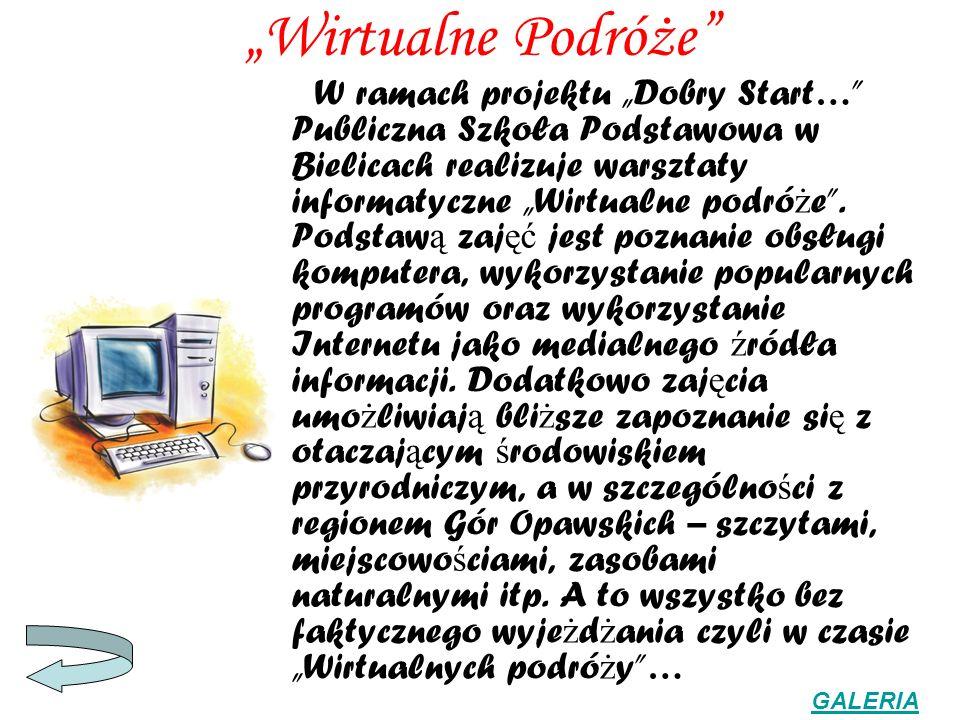 """""""Wirtualne Podróże"""