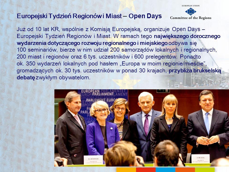 Europejski Tydzień Regionów i Miast – Open Days
