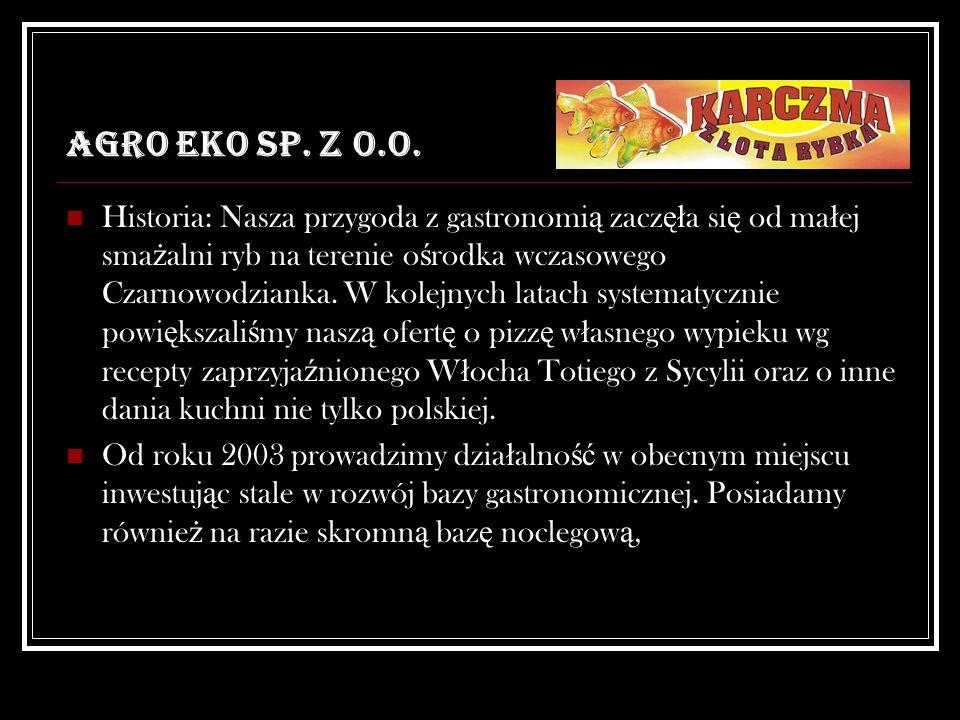 AGRO EKO SP. Z O.O.