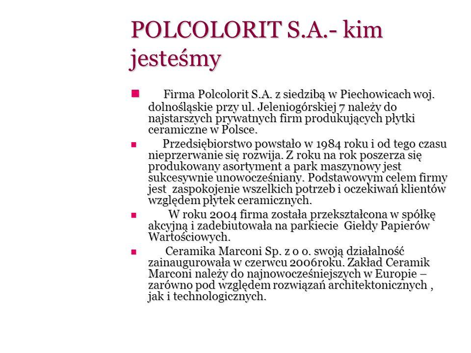 POLCOLORIT S.A.- kim jesteśmy