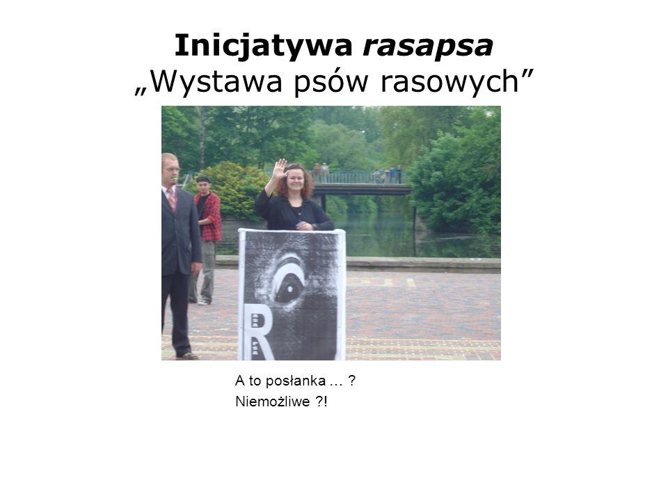 """Inicjatywa rasapsa """"Wystawa psów rasowych"""