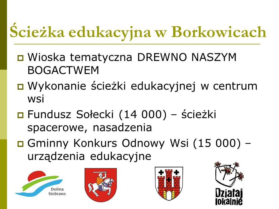 Ścieżka edukacyjna w Borkowicach
