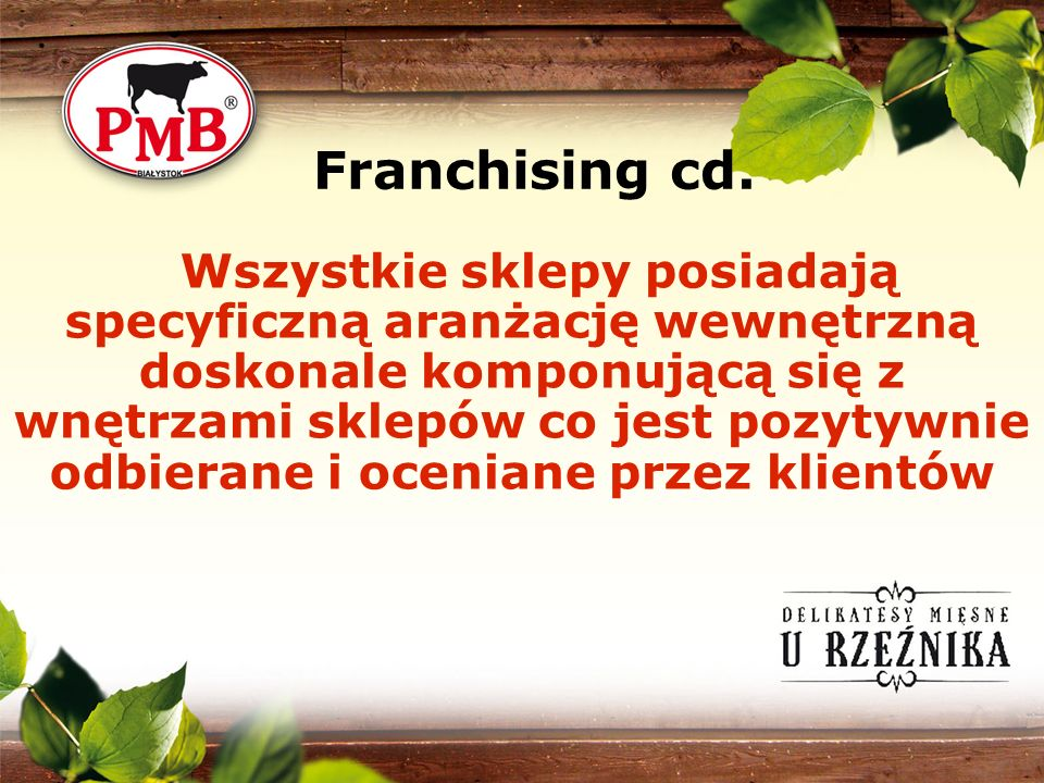 Franchising cd.