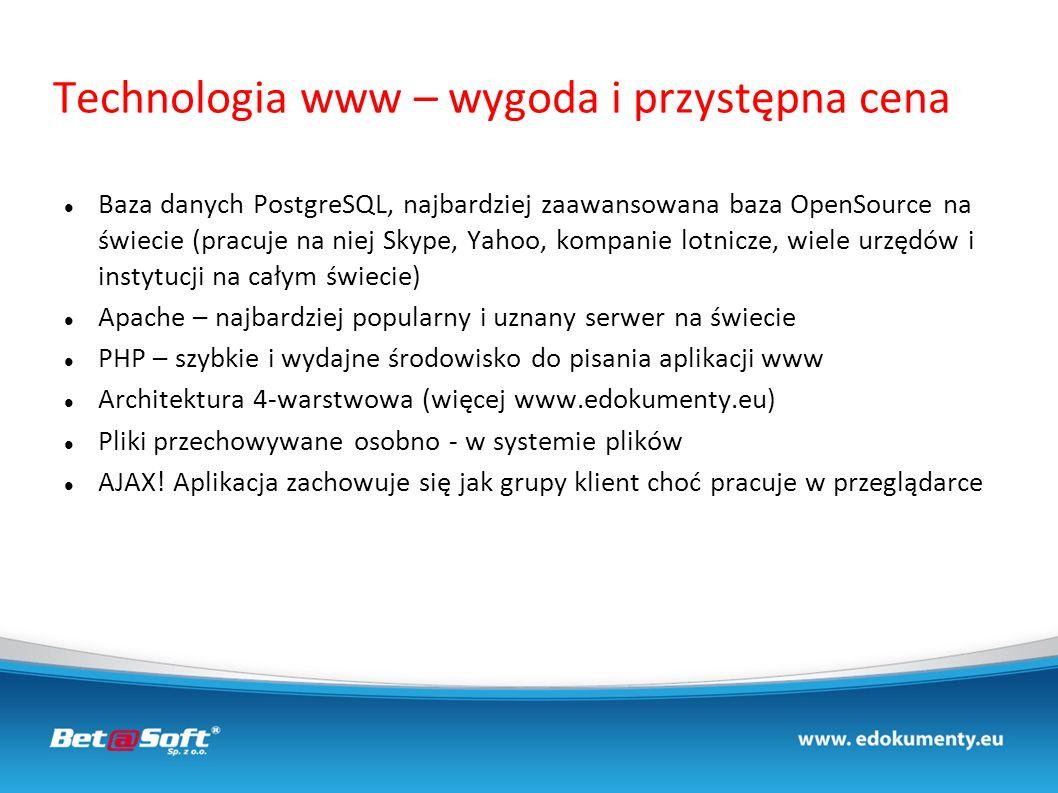 Technologia www – wygoda i przystępna cena