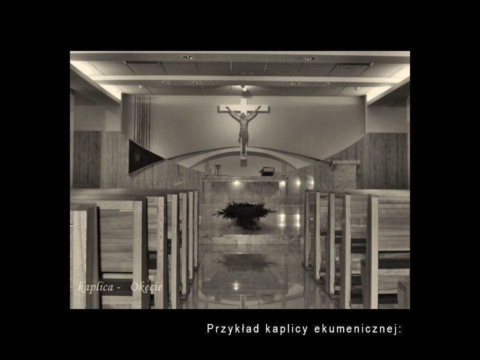Przykład kaplicy ekumenicznej: