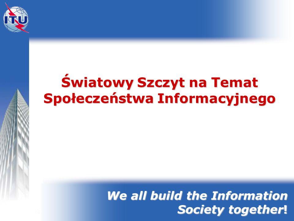 Światowy Szczyt na Temat Społeczeństwa Informacyjnego