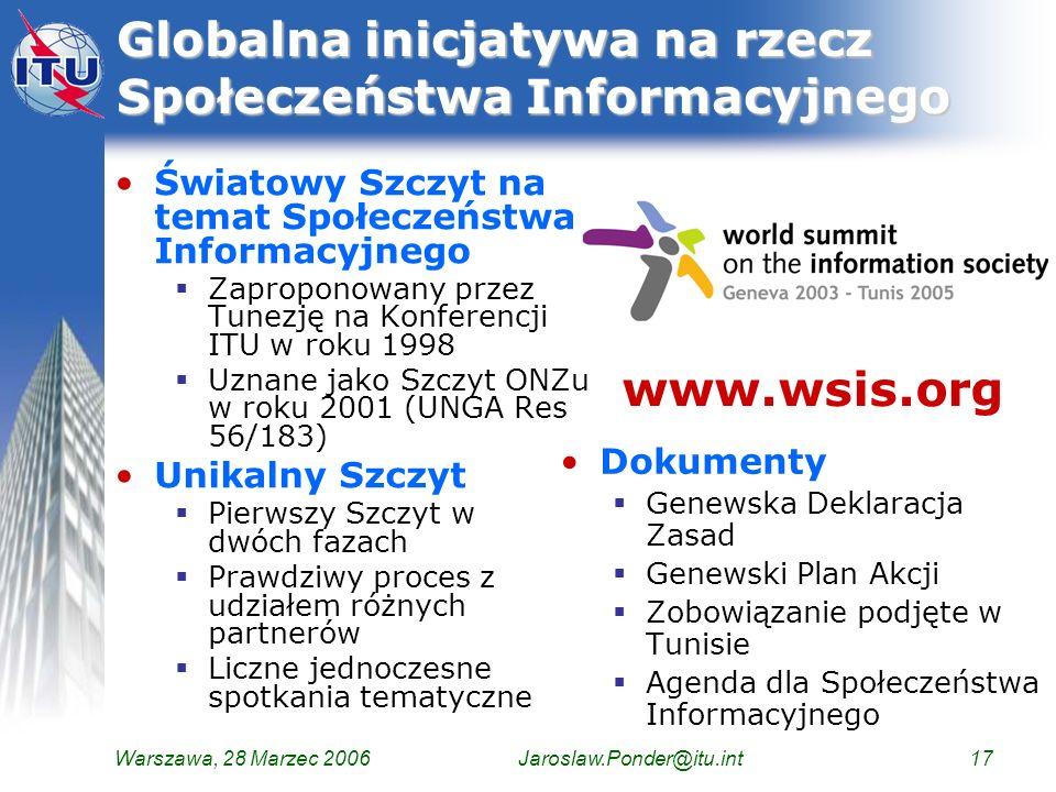 Globalna inicjatywa na rzecz Społeczeństwa Informacyjnego