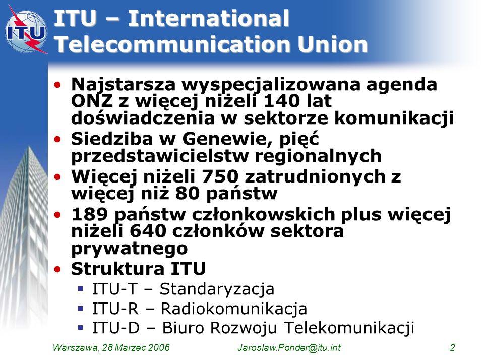 ITU – International Telecommunication Union