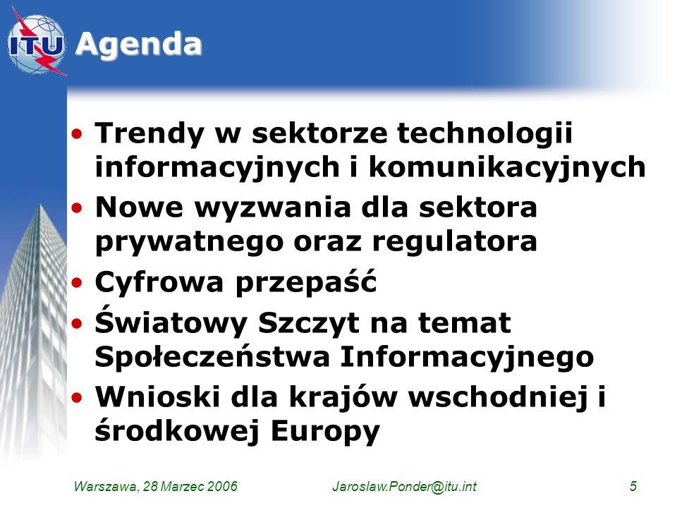 Agenda Trendy w sektorze technologii informacyjnych i komunikacyjnych