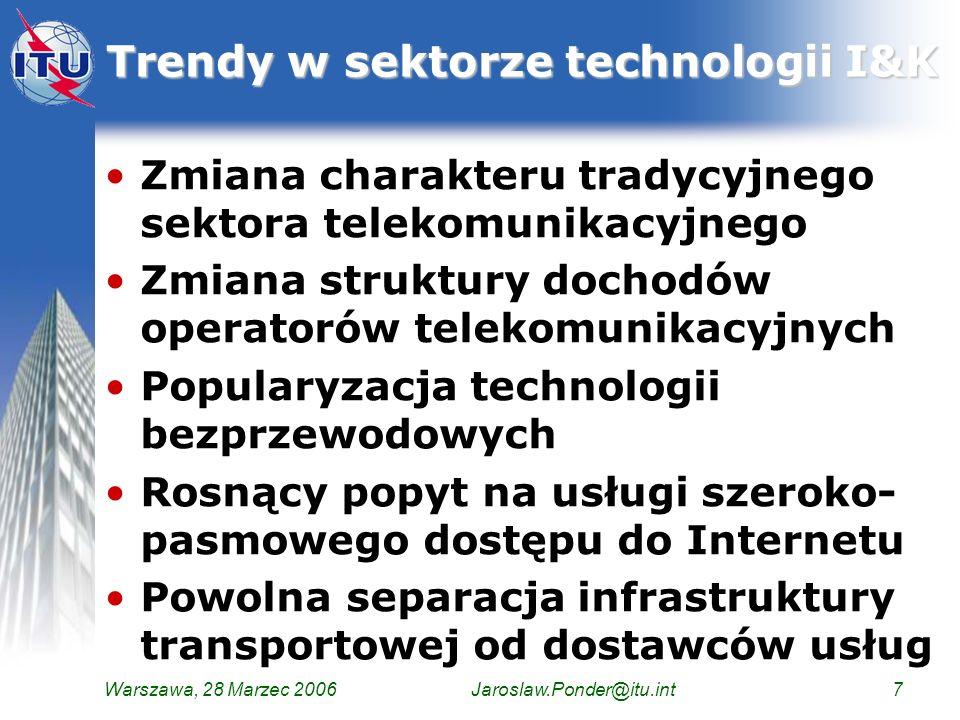 Trendy w sektorze technologii I&K