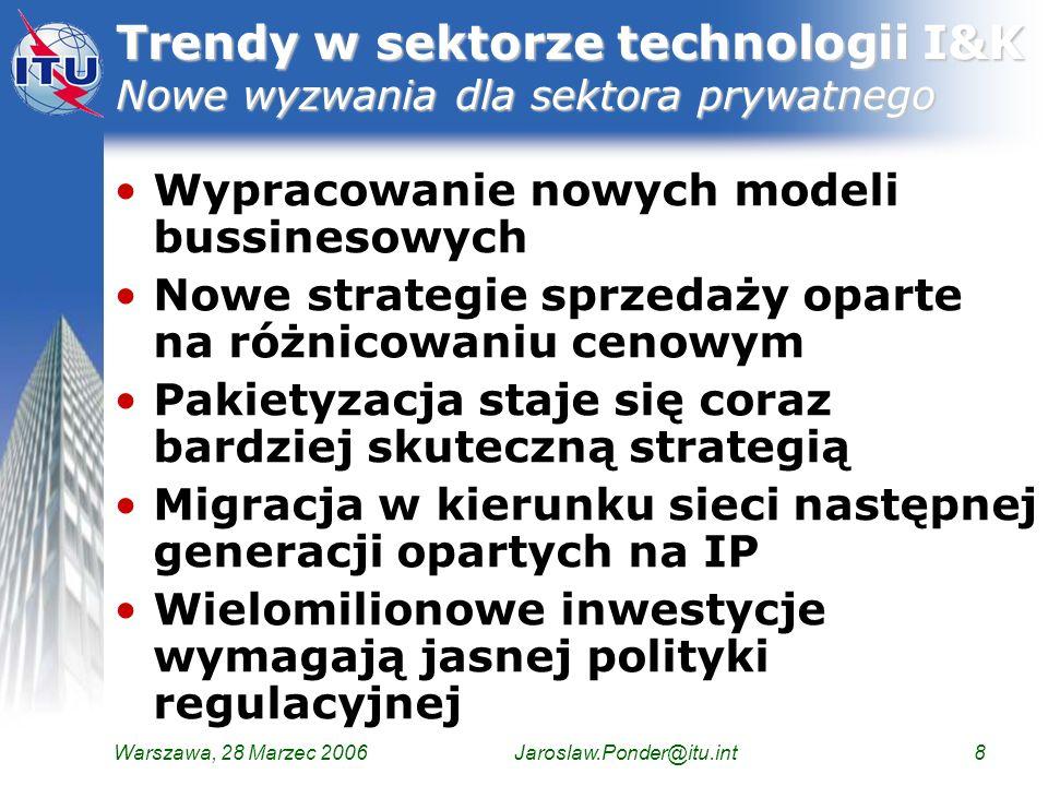 Trendy w sektorze technologii I&K Nowe wyzwania dla sektora prywatnego
